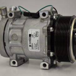 Mitsubishi Fuso Wiring Diagrams 2001 Saturn Sl1 Headlight Diagram New Original Sanden Compressor 4069 (1101030) - Ac Parts Warehouse
