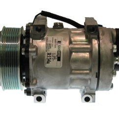 Ac Compressor Ford Mondeo Car Stereo Wiring Diagram New Original Sanden 4485 1101182 Parts