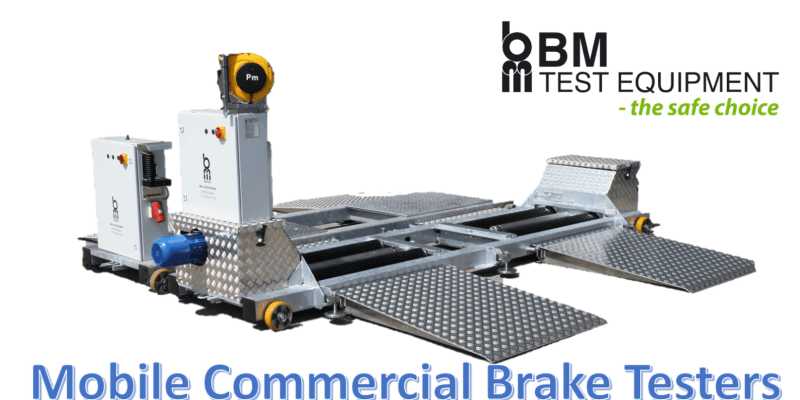 mobile commercial brake tester