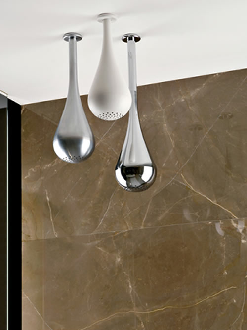 Goccia soffione doccia da soffitto 33751031  Acquablu Arredamento Bagno