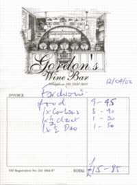 Il Gordon's Wine Bar di Londra
