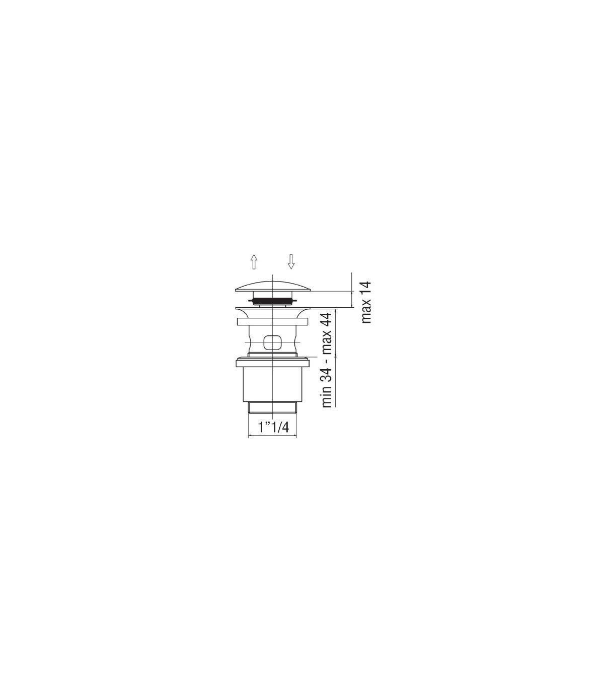 grohe mitigeur lavabo sans ecoulement europlus cosmopolitan 33163