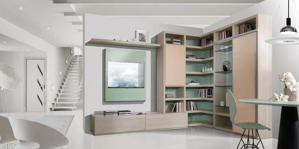 Arredare e valorizzare gli spazi con le pareti attrezzate  Arredamento  Design