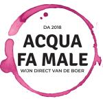 Eindhoven wijn kopen en wijnwebshop Acqua Fa Male logo