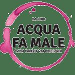 Logo Acqua Fa Male, een wijnwinkel uit Eindhoven die Italiaanse kwaliteitswijnen levert