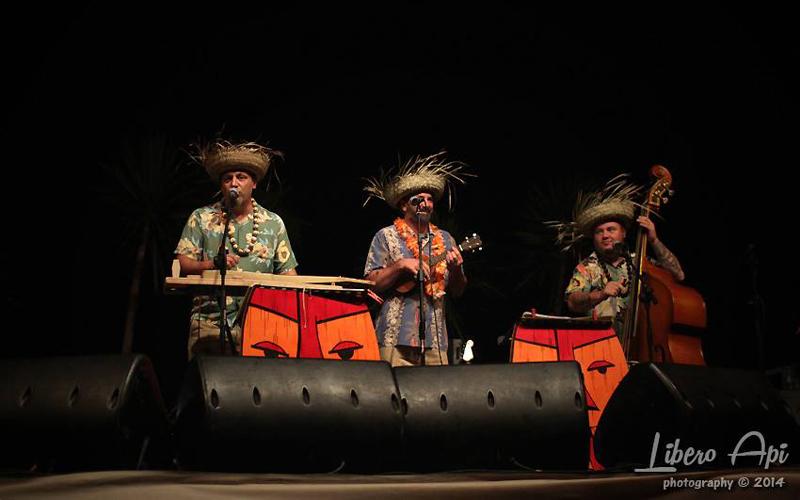 Festa Hawaiana  Acquapazza Ristorante a Senigallia