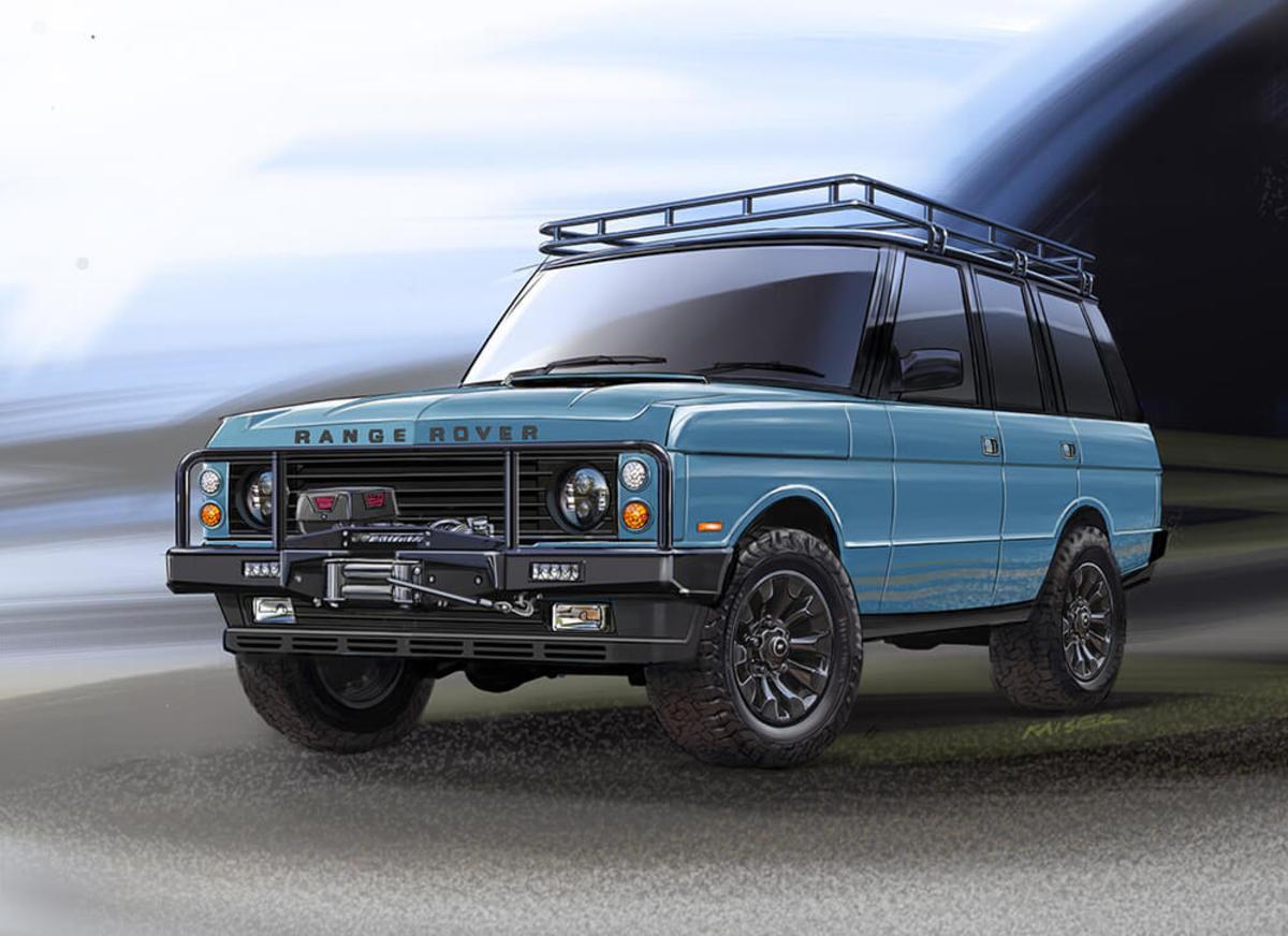 East Coast Defender announces a Custom Range Rover Classic