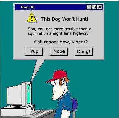 web morons and those