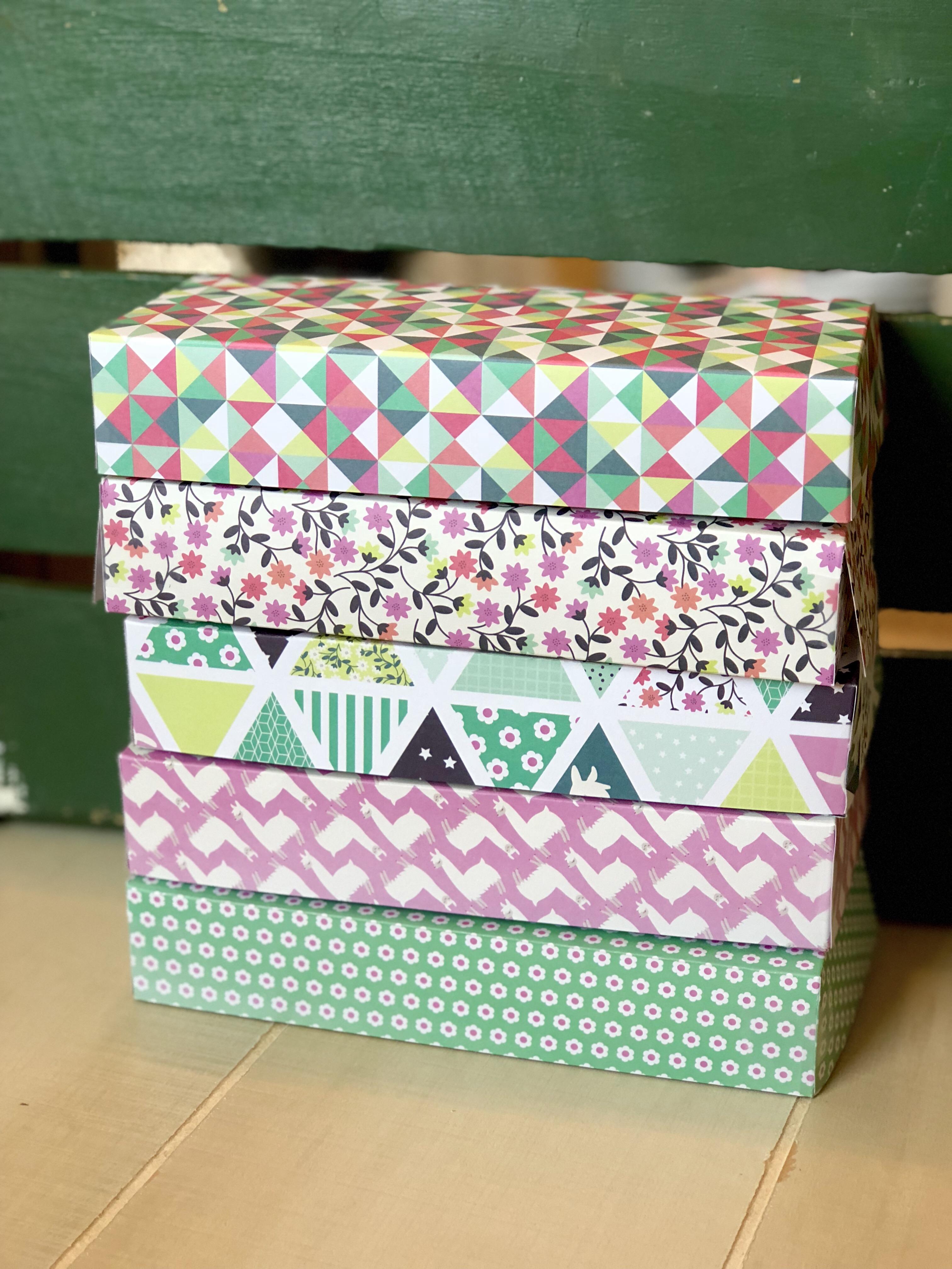 Diy Rectangle Cardstock Gift Box A Crafty Concept