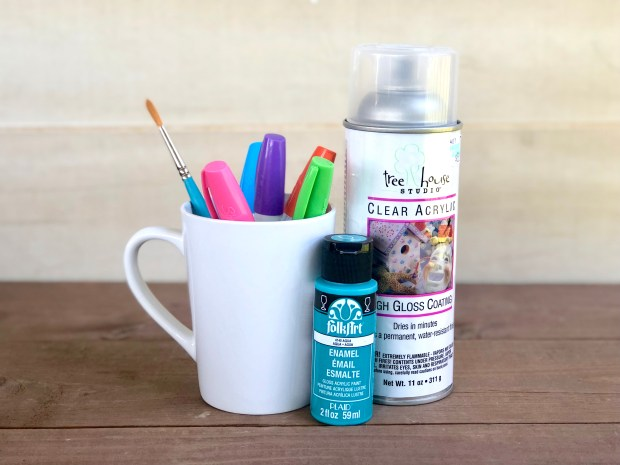 DIY Handprint Mugs are the perfect gift for Father's Day! Here's how to easily make one for the dads in your life!