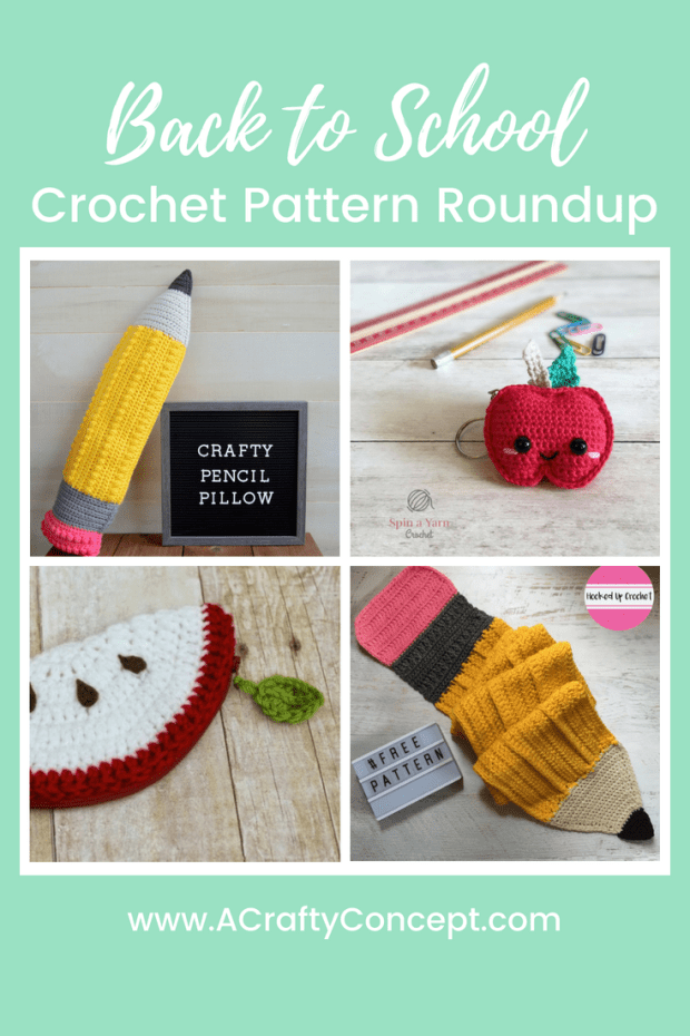 Back To School Crochet Pattern Roundup A Crafty Concept