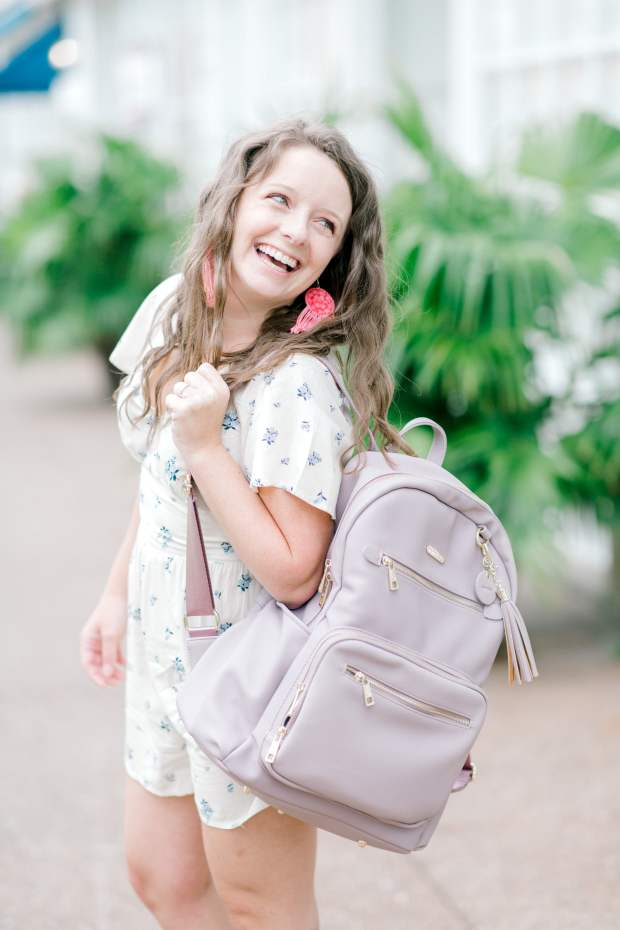 The Namaste Makers Backpack is the perfect bag for crocheters and knitters on the go! Here are 7 quick reasons why you need this Maker Backpack!