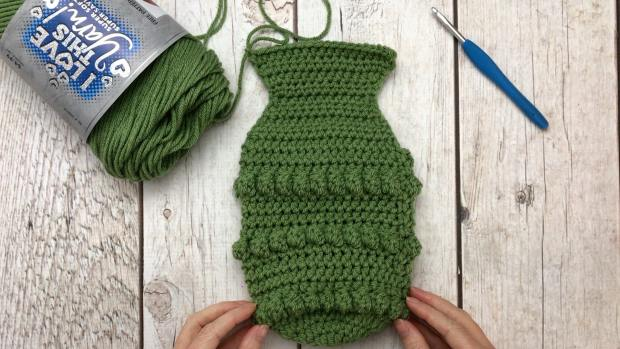 crochet Christmas Stocking by A Crafty Concept