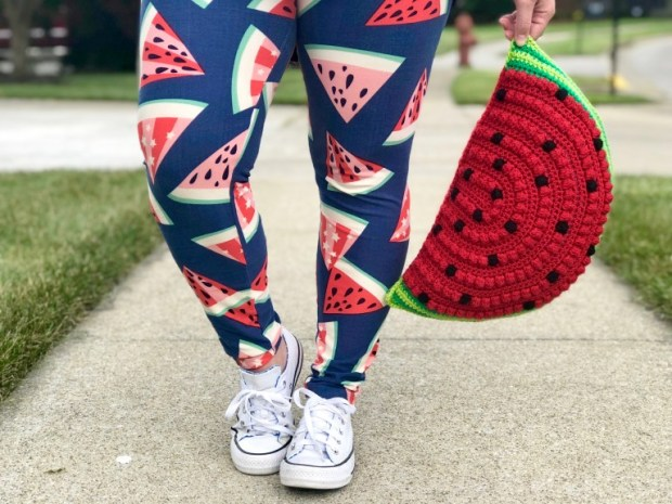 Learn how to make this super easy crochet watermelon pillow and sweeten up your home with some colorful summer crochet home decor.