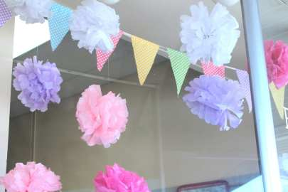 Spring Tissue Paper Flowers - A Crafty LIfe