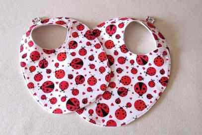Ladybug Bib - Ladybug Nursery