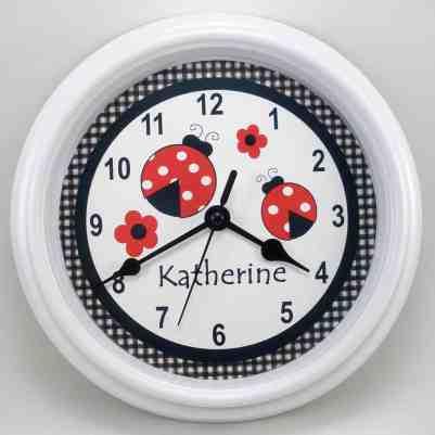 Ladybug Clock - Ladybug Room