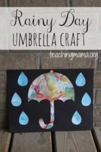 Rainy Day Crafts For Kids Fun On A Stormy Day A More Crafty Life