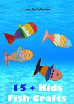 Fish Kids Crafts Ocean Theme A More Crafty Life