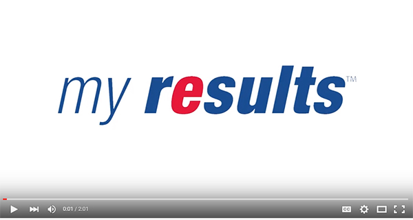 My Results Information Video Design LifeLabs A