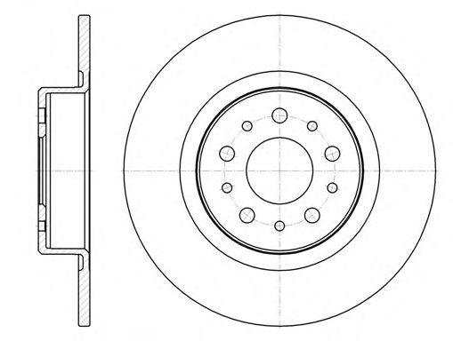 Kit (2) Discos de Freno ALFA ROMEO 156 / 156 Sportwagon 1