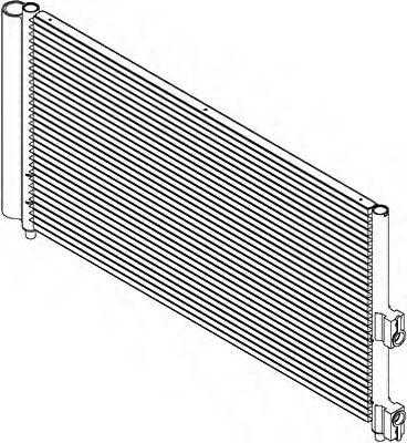 JDEUS Radiador refrigeracion del motor LANCIA Ypsilon 1.2