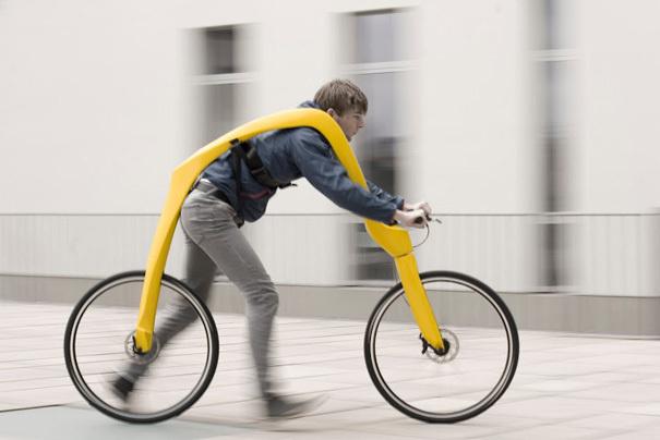 Bike movida a passos