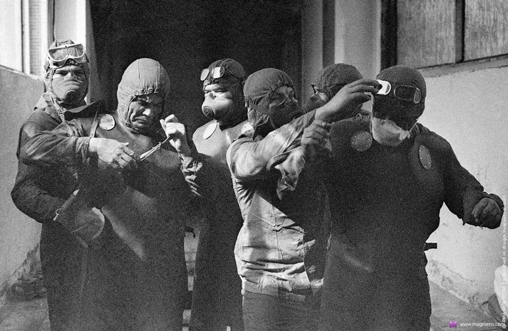 Chernobyl inicio da tragédia