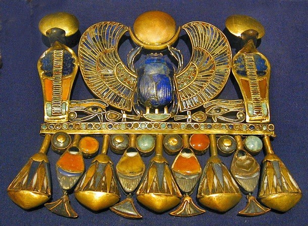 escaravelho de Tutankhamun