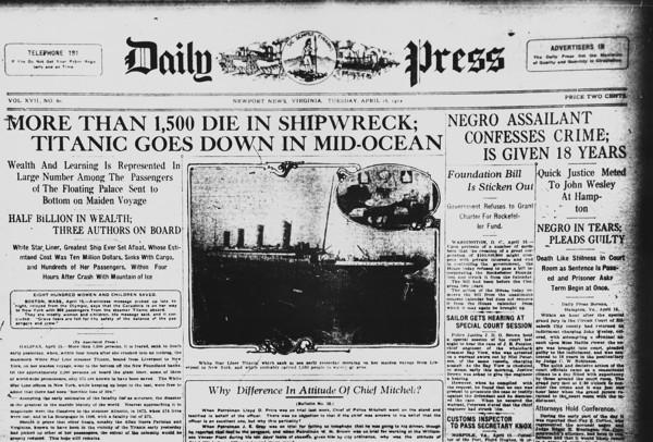 noticia sobre naufrágio