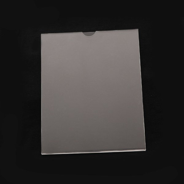 Porta Hojas Carta Vertical elaborado en acrílico resistente. Para pared Cinta doble Cara