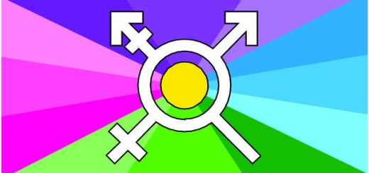 Trans Kaleidoscope flag