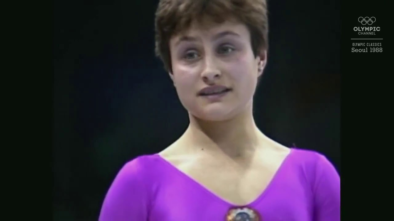 photo Yelena Shushunova 2x Olympic champion (all-around, team)