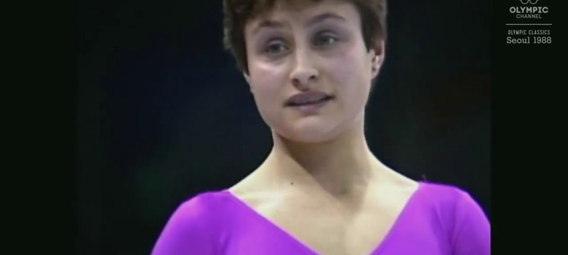 Olympic champion Elena Shushunova