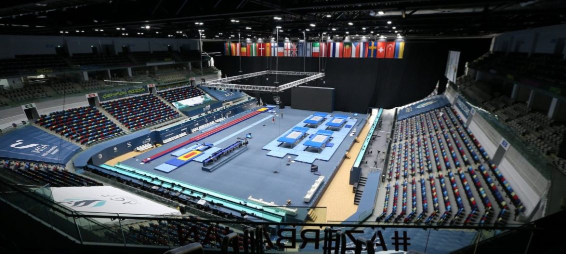 The National Gymnastics Arena in Baku