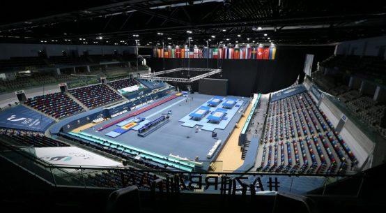 The National Gymnastics Arena in Baku