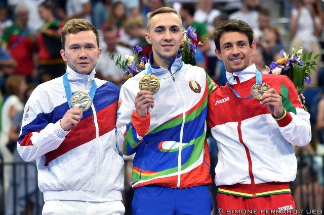 Uladzislau Hancharou, Mikhail Melnik, Diogo Ganchinho