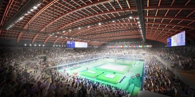 Tokyo 2020 Olympics Gymnastics venue