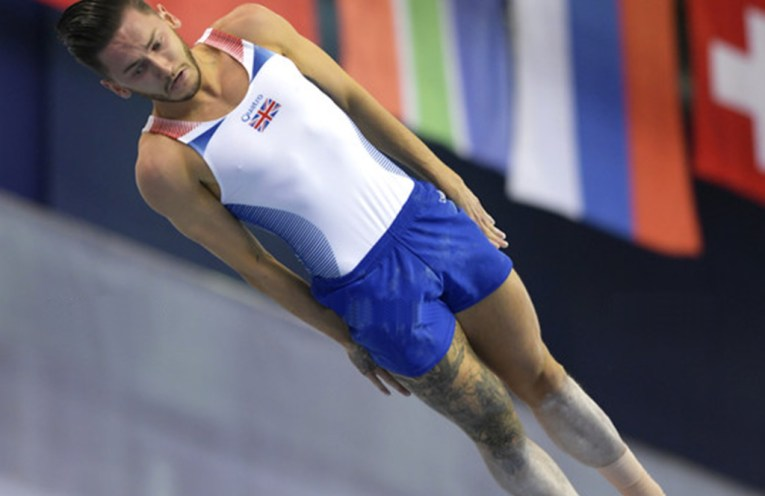 Luke Strong, Great Britain trampolinist