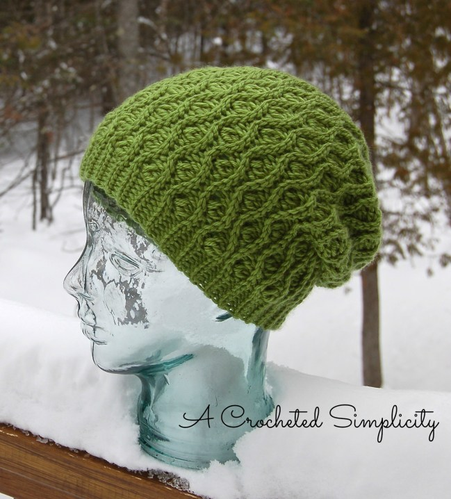 """""""Winter Waves"""" Reversible Beanie and Slouch"""