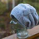 Crochet Pattern: Big Bold Cabled Slouch