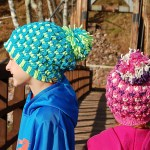 """""""Just Leafy"""" Ski Hat & Slouch by A Crocheted Simplicity"""