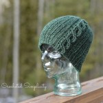 """""""Knit-Look"""" Cabled or Not Beanie by A Crocheted Simplicity"""