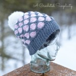 Polka Dot Slouch by A Crocheted Simplicity