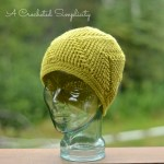 Right This Way! Beanie (Worsted) Crochet Pattern by A Crocheted Simplicity