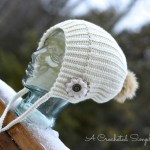 """""""Winter Poms"""" Slouch by A Crocheted Simplicity"""