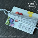Do It Yourself (DIY) - Yarn Tassel (any size, any yarn) by A Crocheted Simplicity