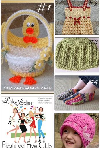 Come join The Linky Ladies Link Party & link your recent knit or crochet projects!