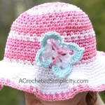 Free Crochet Pattern - Butterfly Appliques 2 Sizes by A Crocheted Simplicity