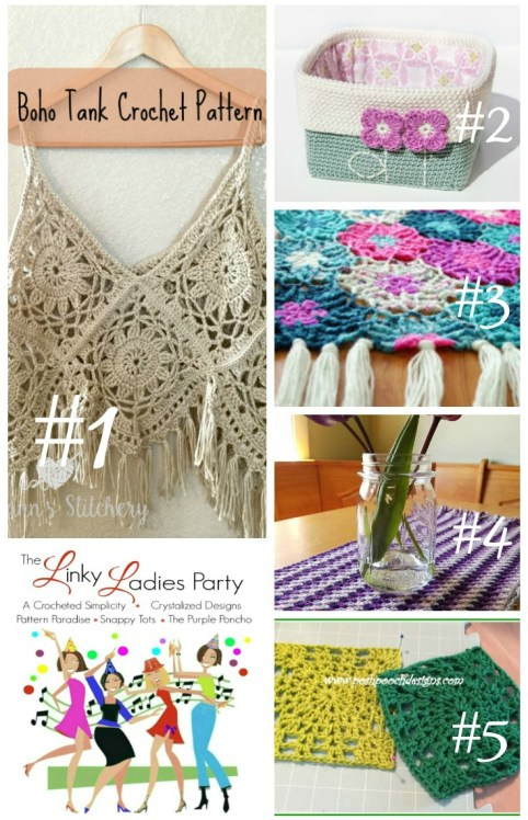 Check out the Top 5 most clicked project in last week's #TheLinkyLadies and add your own project!